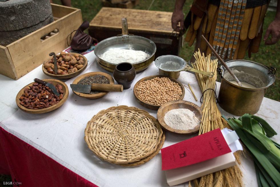 Ce que pouvait manger un légionnaire romain