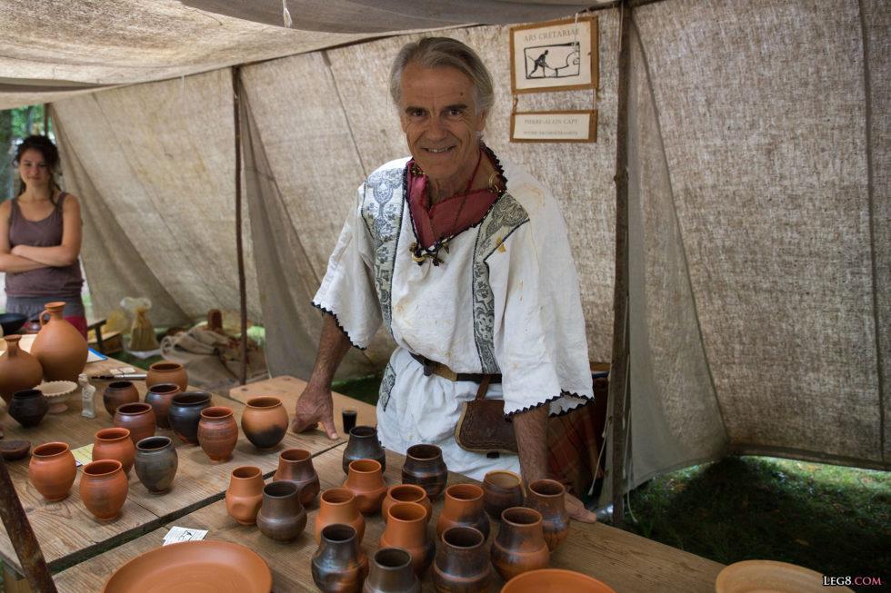 Pierre-Alain Capt, alias Pistillus, et ses productions de céramique
