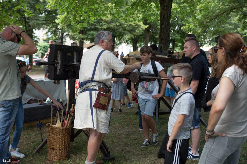 Explications sur l'artillerie romaine