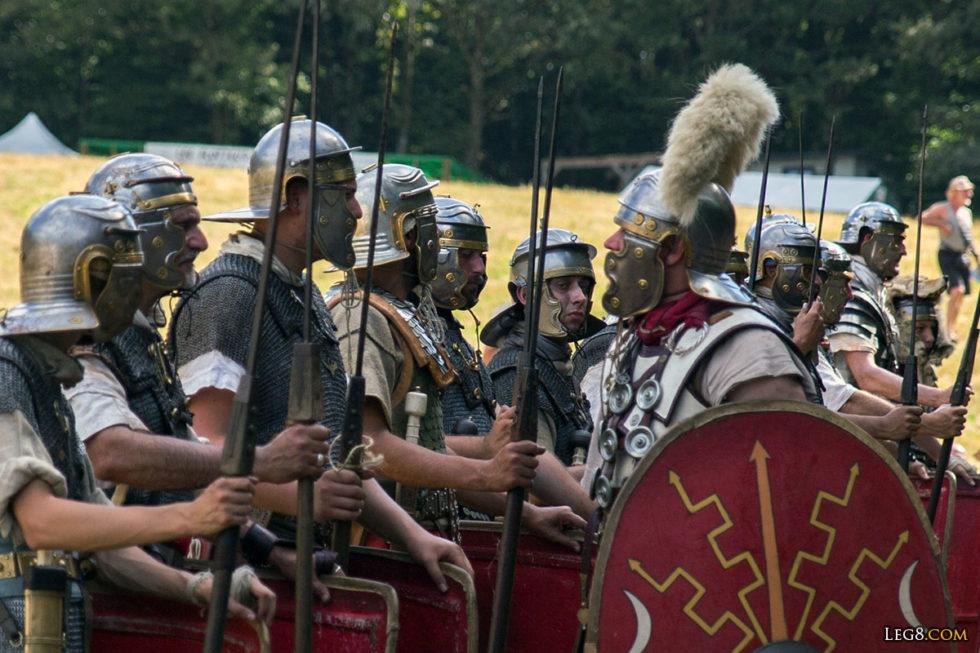 Le centurion et ses légionnaires